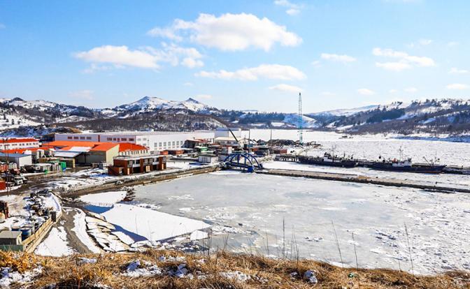 На фото: виды острова Шикотан в Сахалинской области (Фото: Пресс-служба губернатора Сахалинской области/ТАСС)