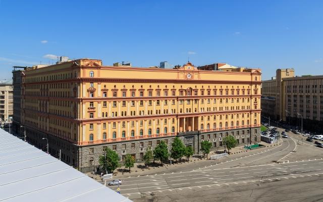Главное здание ФСБ на Лубянской площади